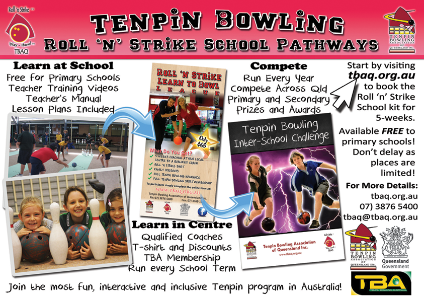 Tenpin Bowling School Pathways