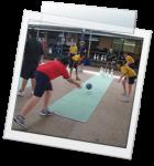 Tenpin Bowling at School