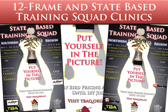 12-Frame Clinic & State Based Training Squad Weekends 2014